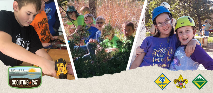 We can help you find a cub scout pack near you, a boy scout troop near you, a scouts bsa troop for girls near you, and a venturing crew near you.